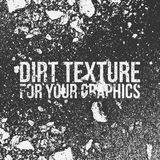 Dirt Texture for Your Graphics. Vector Illustration Stock Image