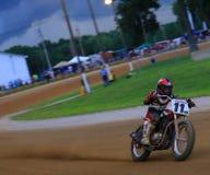 Dirt track bike racing event Stock Photos