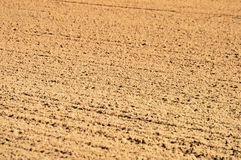 Dirt Track. Close-up of racing track dirt after being raked and watered royalty free stock photos