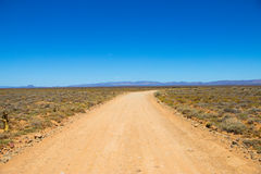 Dirt track to Nowhere Royalty Free Stock Images
