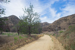 Dirt Trails in Southern California Royalty Free Stock Image
