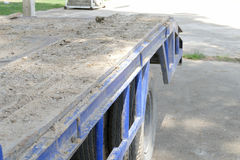 Dirt on the truck Royalty Free Stock Photo