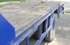 Dirt on the truck Royalty Free Stock Image