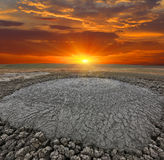 Dirt Volcano Stock Images