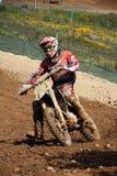 dirtbike do motocross Fotografia de Stock