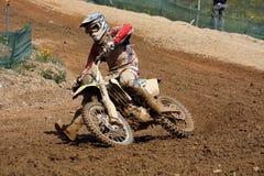 Dirtbike do motocross Foto de Stock Royalty Free