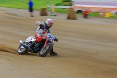Dirtbike het rennen gebeurtenis stock fotografie