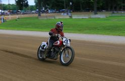Dirtbike racing event Royalty Free Stock Photography