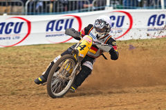 Dirtbike rider Stock Images