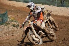 Dirtbikes de motocross Images stock