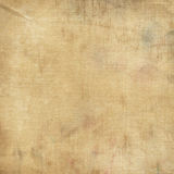 Dirty and aged canvas fabric Stock Photography