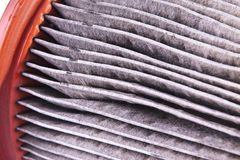 Dirty Air Filter Stock Image