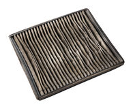 Dirty air filter Royalty Free Stock Photography