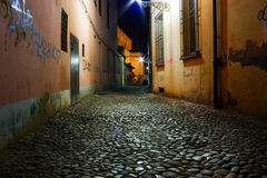 Dirty alley Royalty Free Stock Image