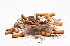 Dirty ashtray Royalty Free Stock Photo