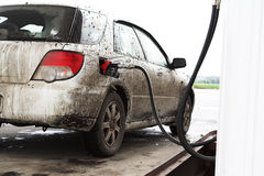 The dirty automobile Stock Image