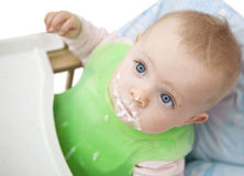 Dirty baby.bis Royalty Free Stock Image