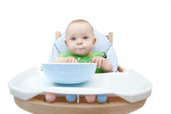 Dirty baby.ter Stock Image