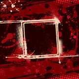 Dirty Background 1. Grunge circle frame illustration for your design Royalty Free Stock Images