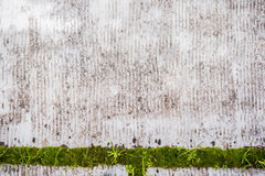 Dirty Background with green detail Stock Image