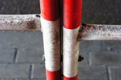 Dirty barrier Royalty Free Stock Photo