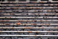 Free Dirty Bbq Grill - Meat Leftover Stock Photography - 122644012