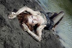 Dirty beauty Royalty Free Stock Photography