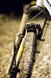 Dirty bicycle Stock Photography