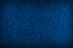 Dirty blue leather texture Stock Photo