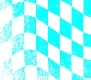 Grunge chequered flag. A dirty blue and white grunge fx chequered race flag royalty free illustration