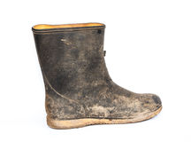 Dirty boots Stock Image