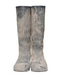 Dirty boots. For wasango design Royalty Free Stock Photography