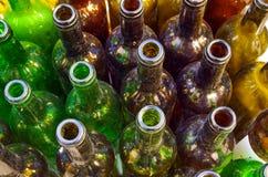 Dirty Bottles Stock Photo