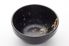 Dirty bowl Royalty Free Stock Photos