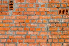 Dirty brick wall Royalty Free Stock Photos