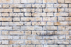 Dirty brick wall background Stock Photos