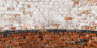 Dirty brick wall Stock Photo