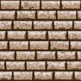 Dirty brick wall seamless pattern Royalty Free Stock Photo