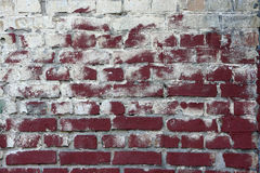 Dirty brick wall Stock Photography