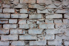 Dirty brick wall Royalty Free Stock Image