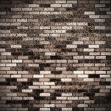 Dirty bricks Royalty Free Stock Photo