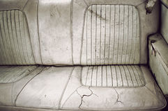 Dirty back seat Stock Photos