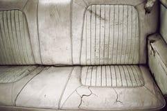 Dirty back seat Stock Photos