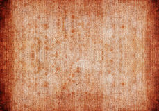 Dirty brown canvas background Royalty Free Stock Images