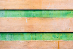 Dirty Brown Green Wood Background/ Texture Stock Image
