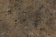 Dirty burlap texture Stock Photo