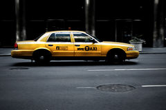 Dirty cab Royalty Free Stock Images