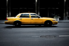 Dirty cab Royalty Free Stock Image