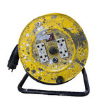 Dirty Cable Reel Royalty Free Stock Photos