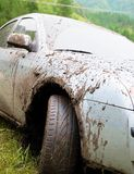 Dirty car Royalty Free Stock Images